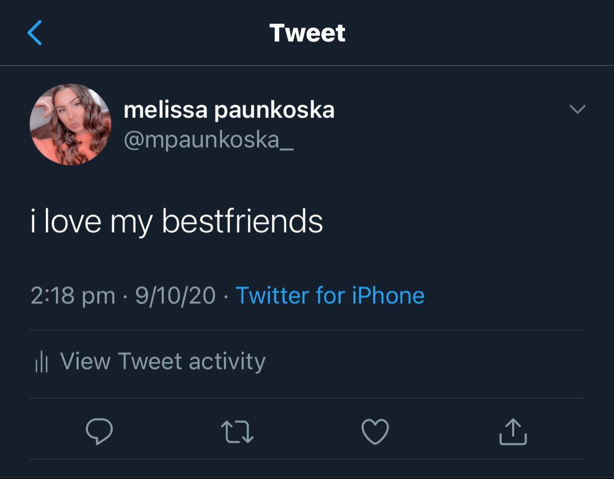 melissa paunkoska (@mpaunkoska_) on Twitter