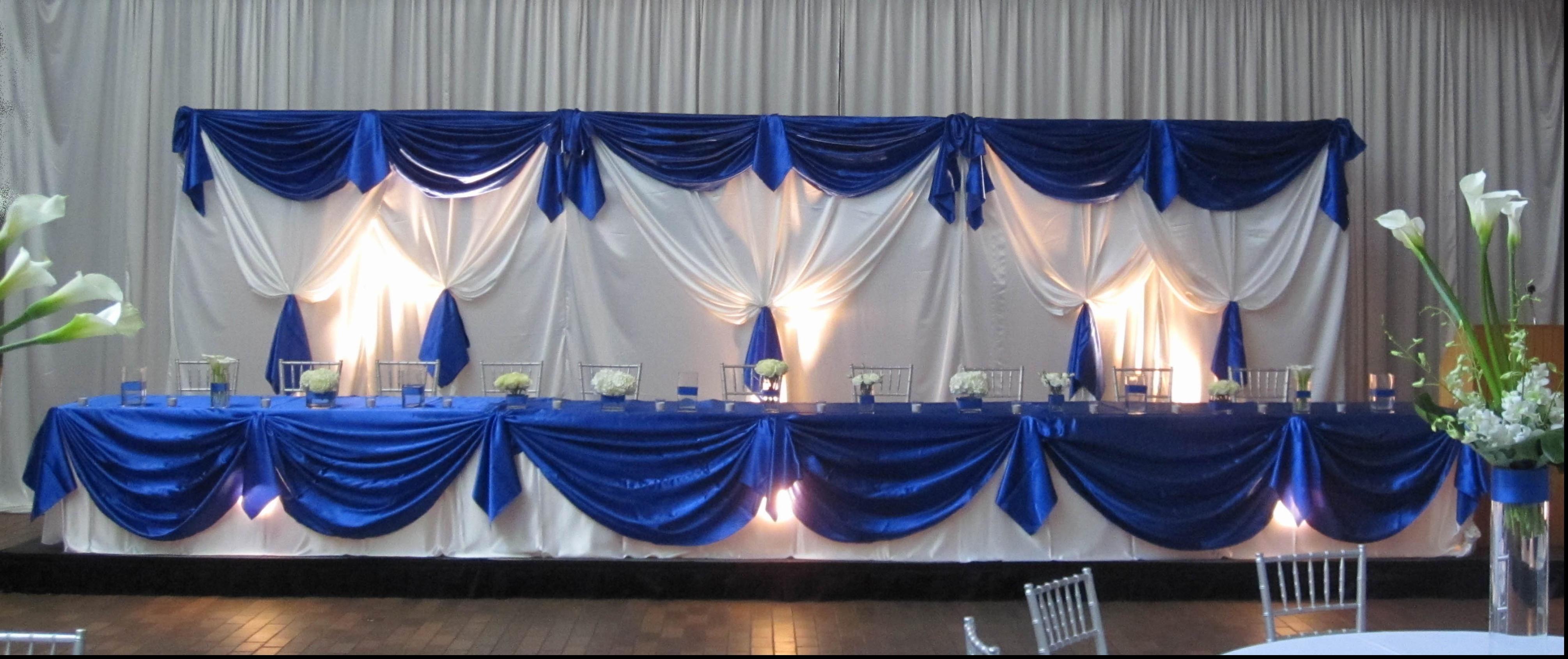 Astonishing Royal Blue Wedding Table Decorations Weddings
