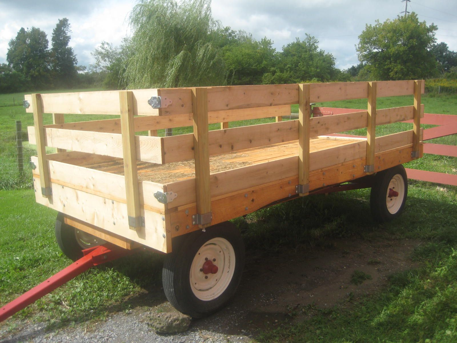 farm hay wagons for sale | Restoring a 60 year old Hay Wagon ...