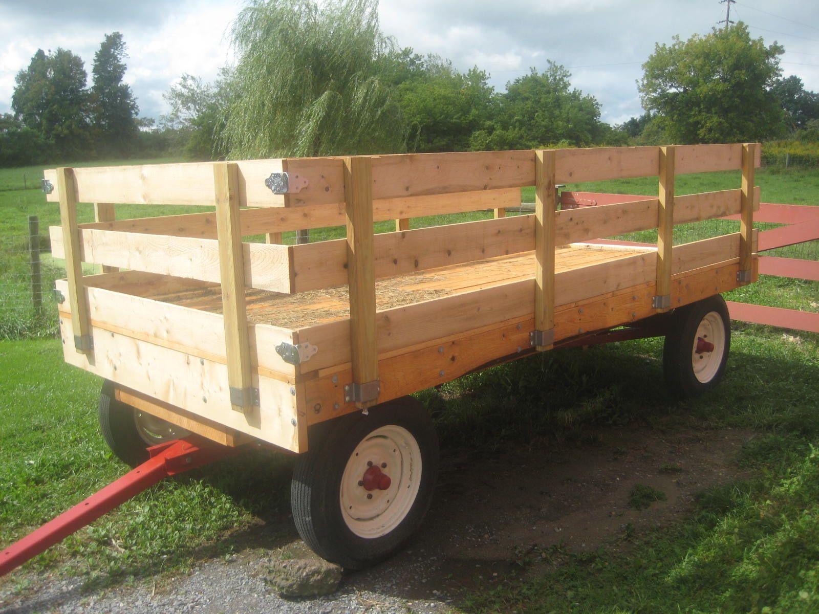 Electric Farm Wagon ~ Farm hay wagons for sale restoring a year old