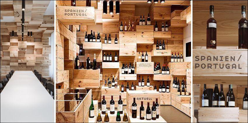 12 grandes garrafeiras do planeta vinho zurich for Arredamento cantina vino