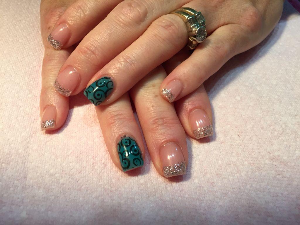 Gel nails from ags nail studio   Unhas, Unhas lindas