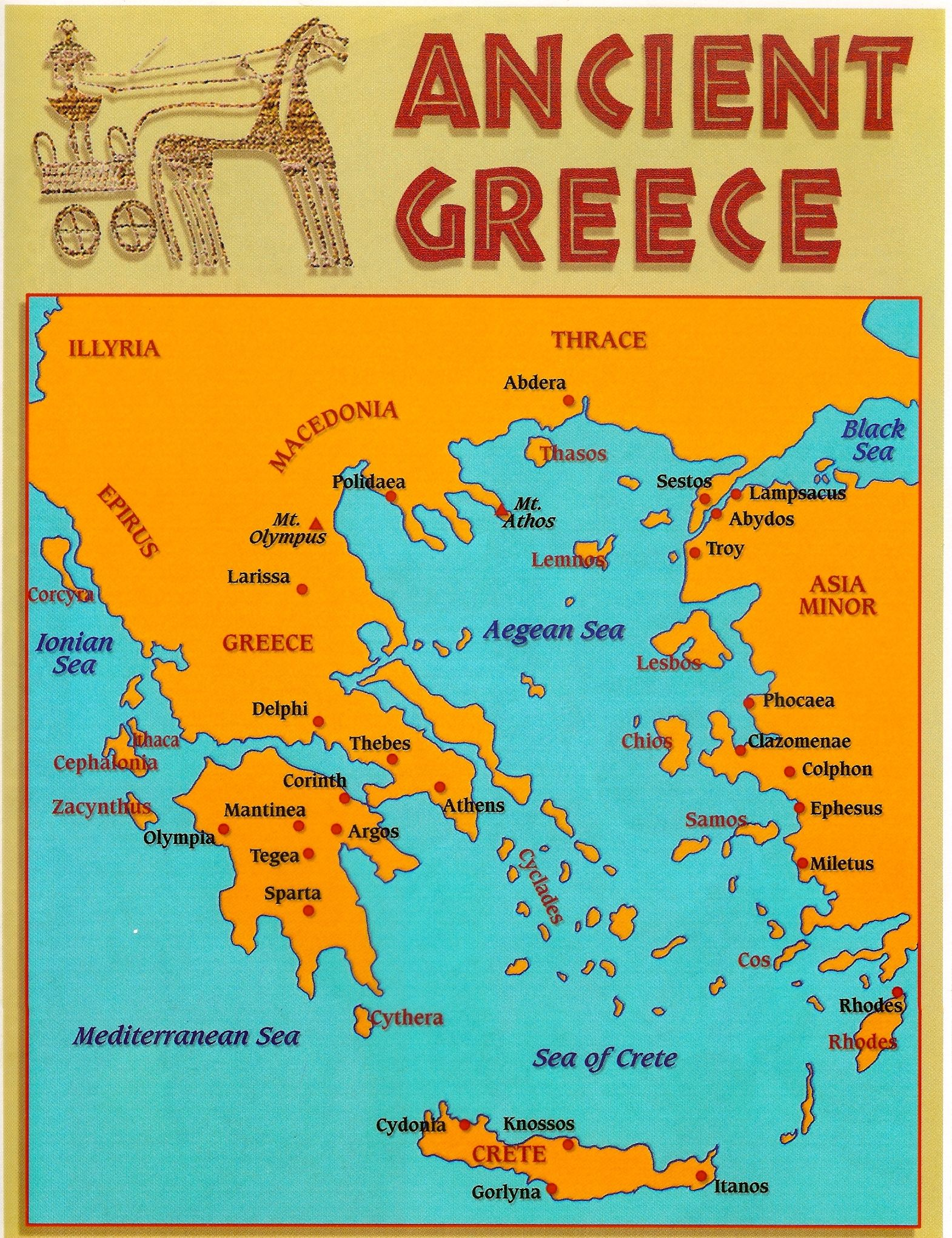 Ancient Greece Map vs Modern Greece Map epictourist – Ancient Greece Map Worksheet