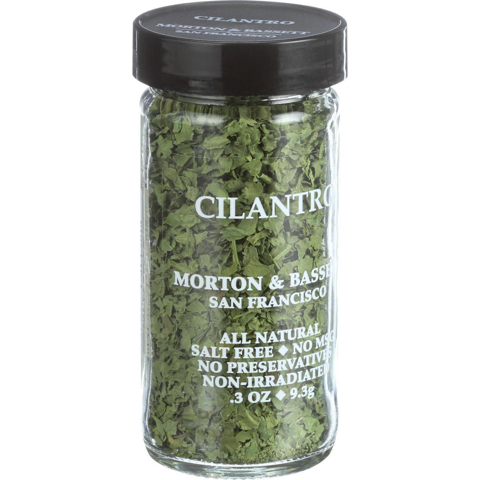 Morton and Bassett Seasoning Cilantro .3 oz Case of