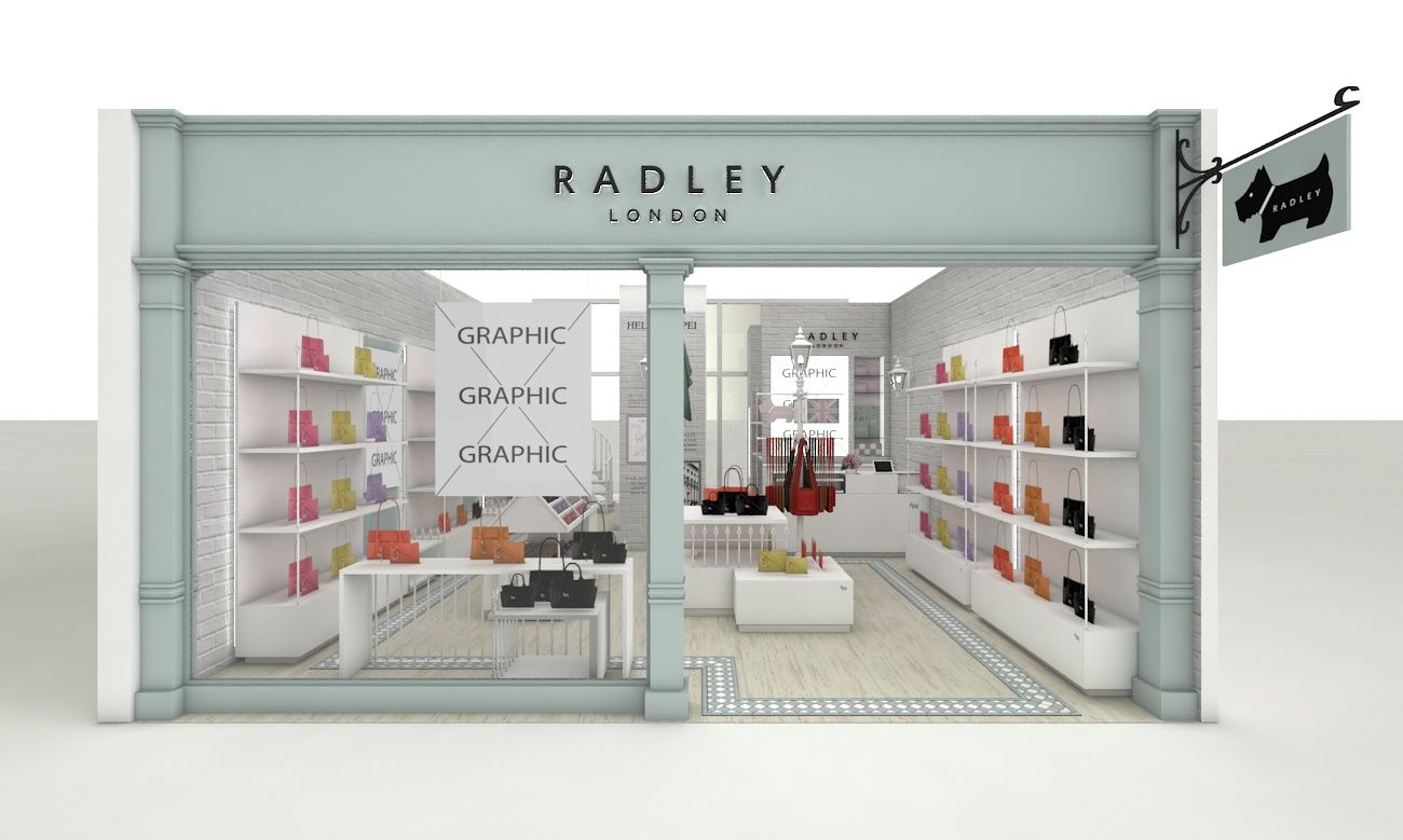 Radley Store Taiwan Trc Worked With Radley On The