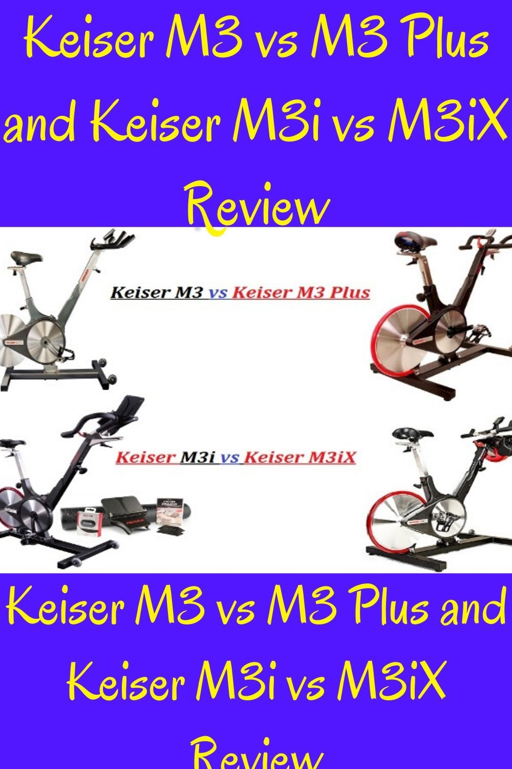 Keiser M3 Vs M3 Plus And M3i Vs M3ix Review To Help You Choose In