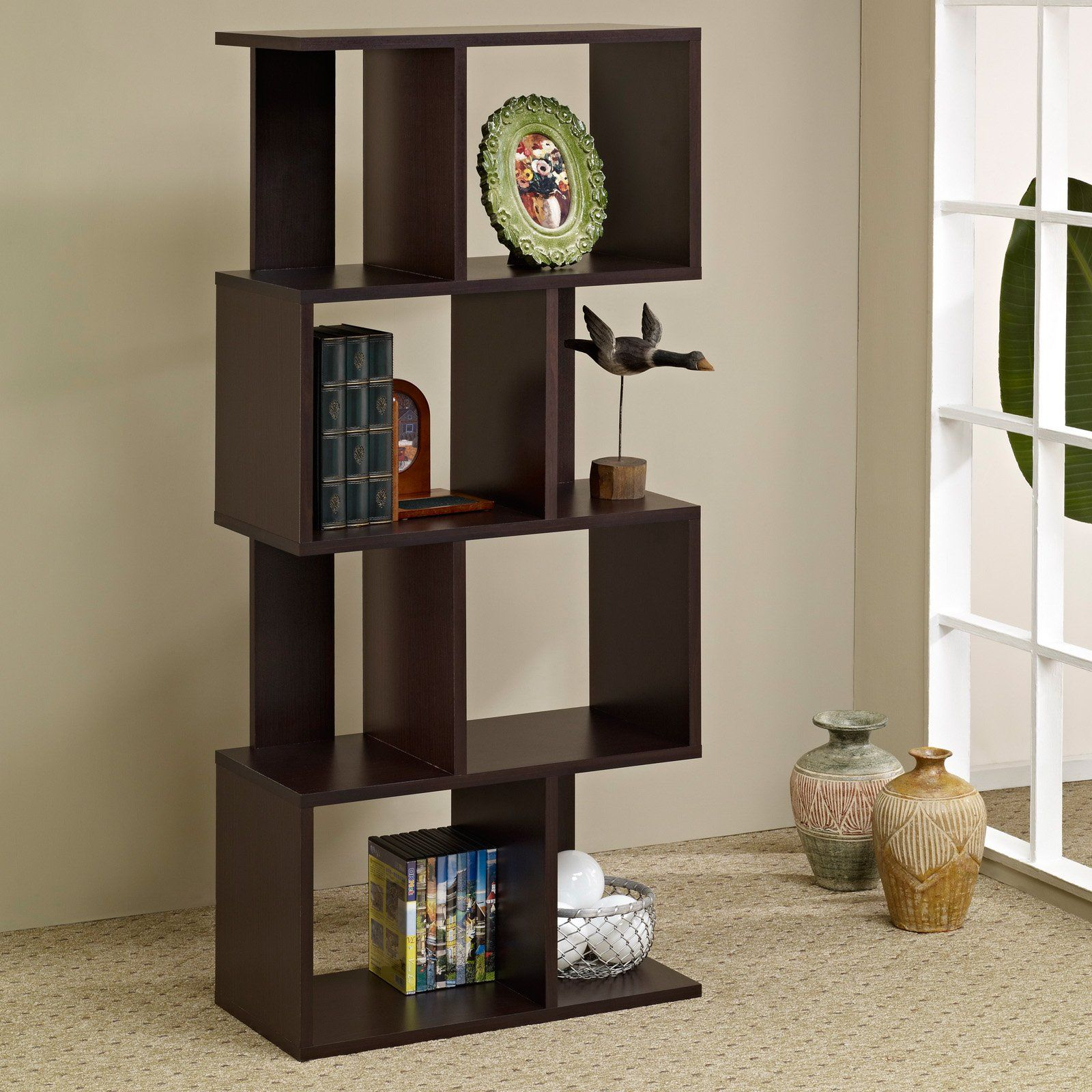 divider bookcase ideas room bookshelf diy dividers wall pony
