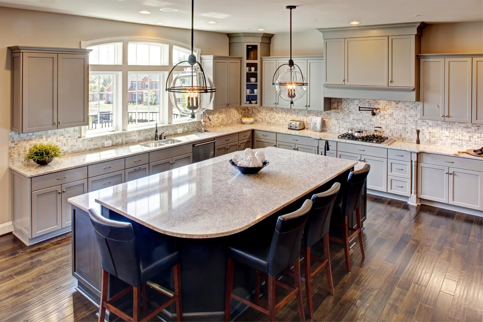 Best Gray Cabinets New Monticello Ii Home Model For Sale 400 x 300