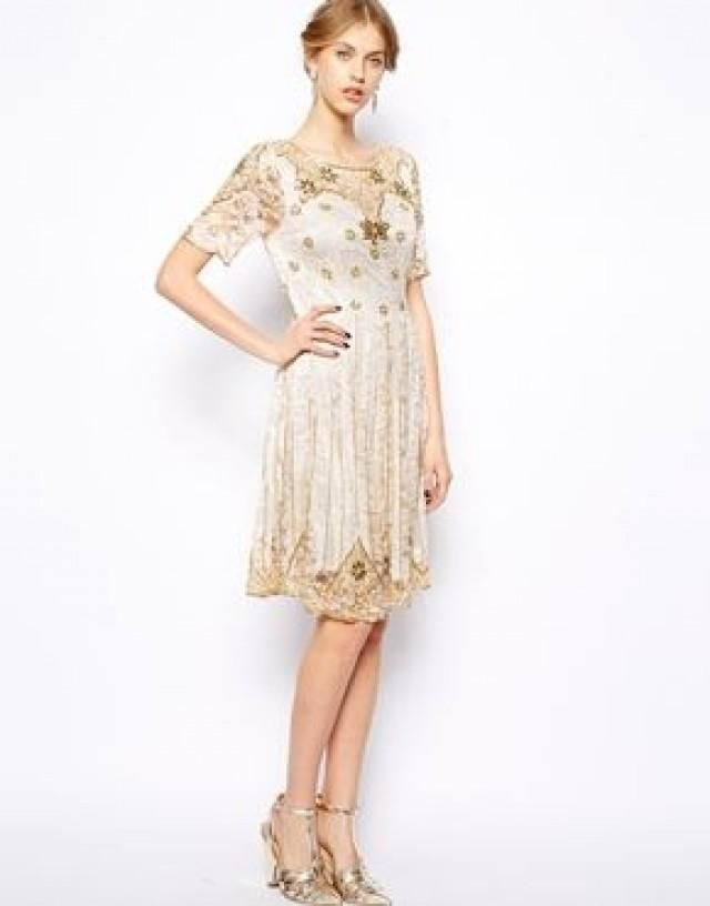 Great Gatsby Art Deco Bridesmaid Dress #20s