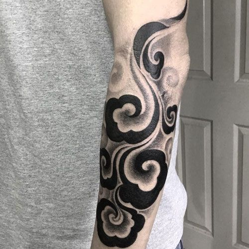 125 Best Japanese Tattoos For Men Cool Designs Ideas Meanings 2020 Japanese Tattoos For Men Cloud Tattoo Tattoos For Guys