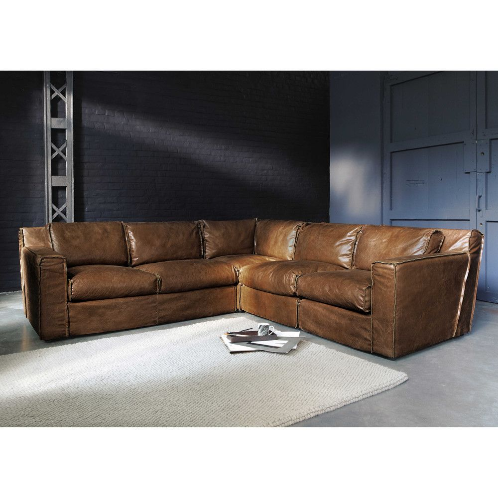 Sofa Esquinero Vintage De 4 Morrison Leather Sofa Living Room Corner Sofa Sofa