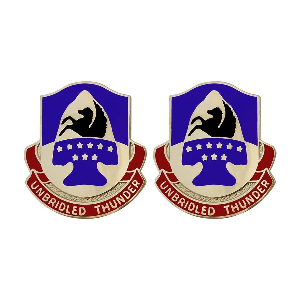 63rd Aviation Brigade Unit Crest (Unbridled Thunder