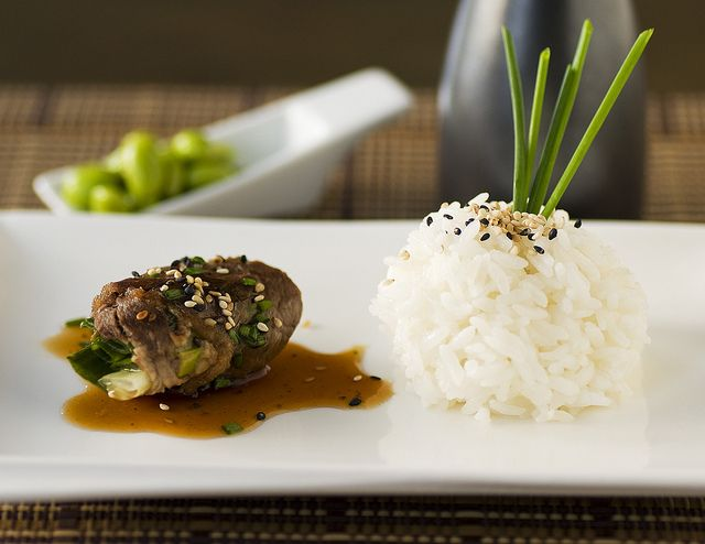Asian beef with rice asian beef fine dining and rice for Asian cuisine ppt