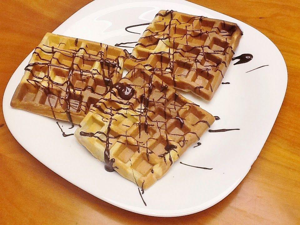Creme de Avelãs: Waffles (Saudável, Sem Glúten, Sem Lactose, Sem Açúcar Adicionado, Sem Gordura Adicionada, Integral)