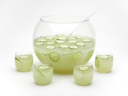 A Punch That Packs Absinthe with Cucumbers