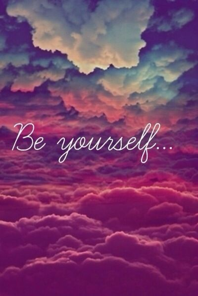 Be Yourself..! @Roo