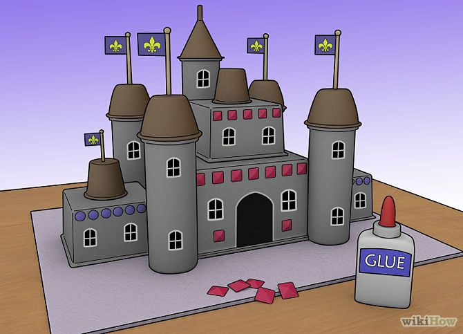 Make a Model Castle | How to build, Paper and How to make
