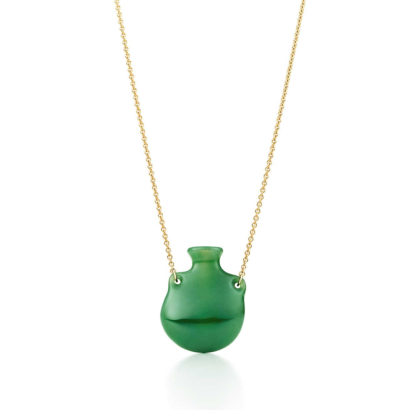 6ebd005352026 Elsa Peretti®:Bottle Green Jade Pendant   Fine Jewelry & Timepieces ...