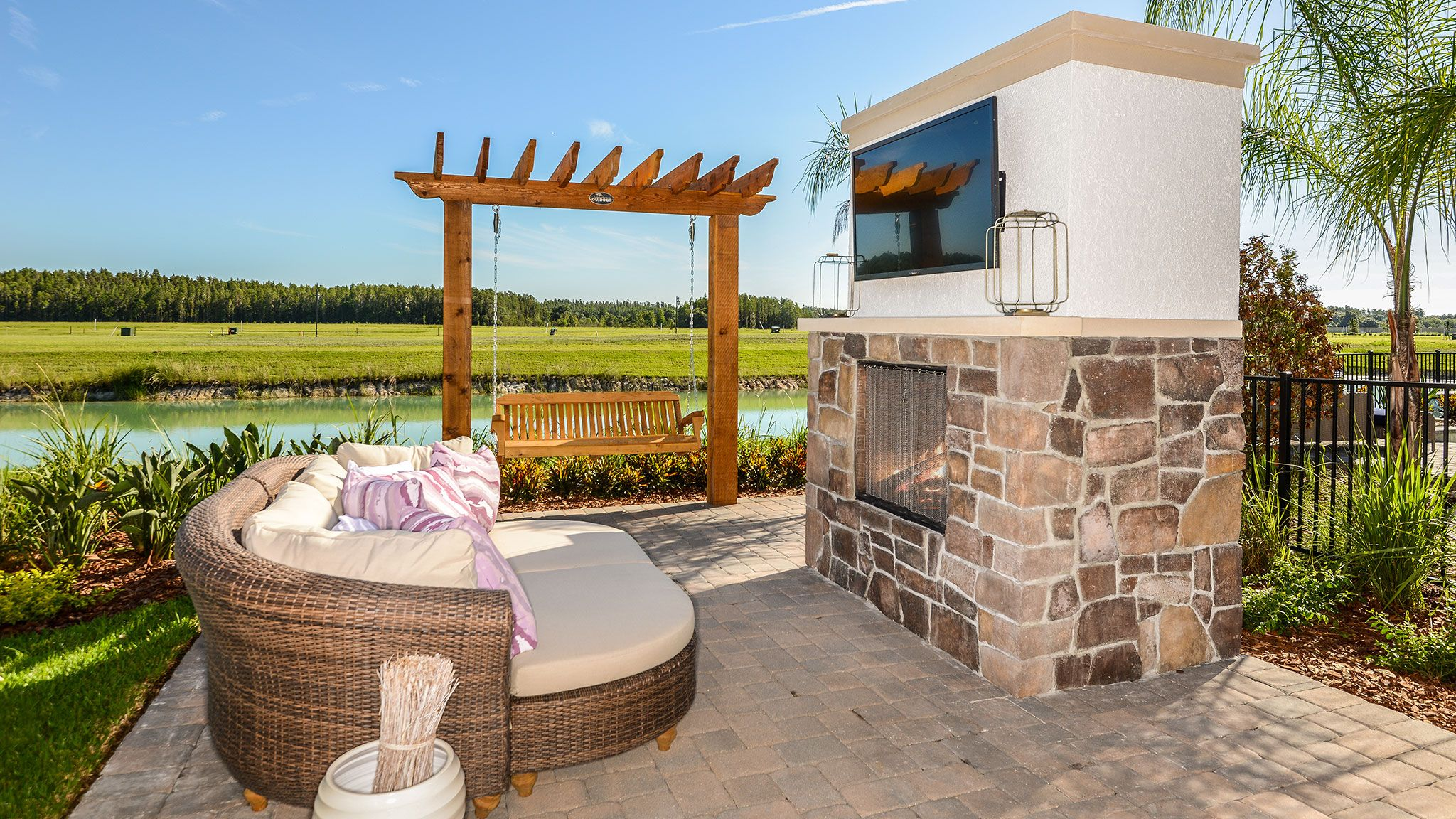 Would You Enjoy Unwinding On This Patio Bays Outdoor Living Life