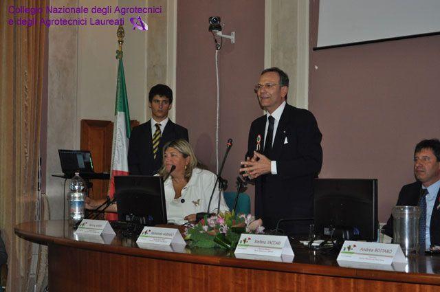 L'intervento di Raimondo Murano.