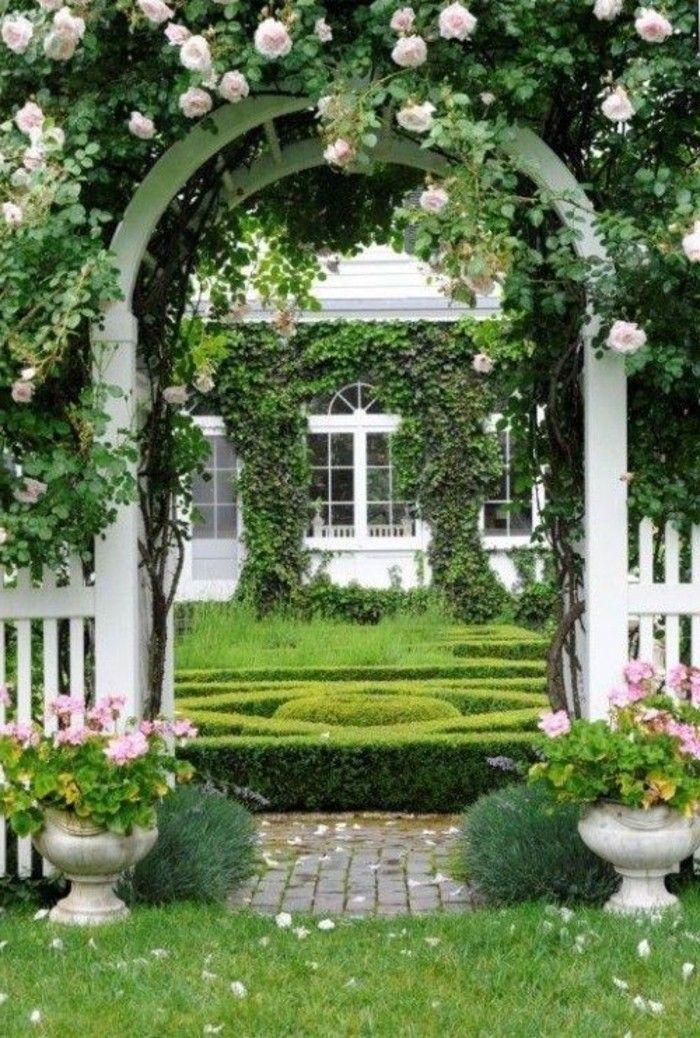 46 Erstaunliche Pergola Gartentor Vorschläge | Gartengestaltung Ideen |  Pinterest | Garten, Pergolas And Gardens