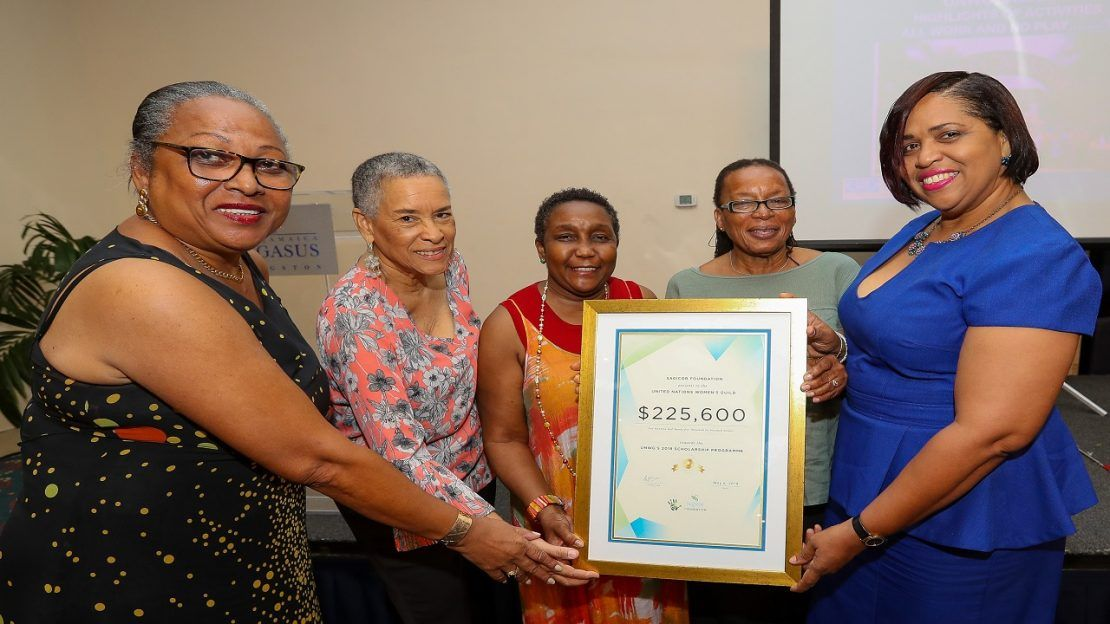 Sagicor Foundation gives boost to UN Women's Guild