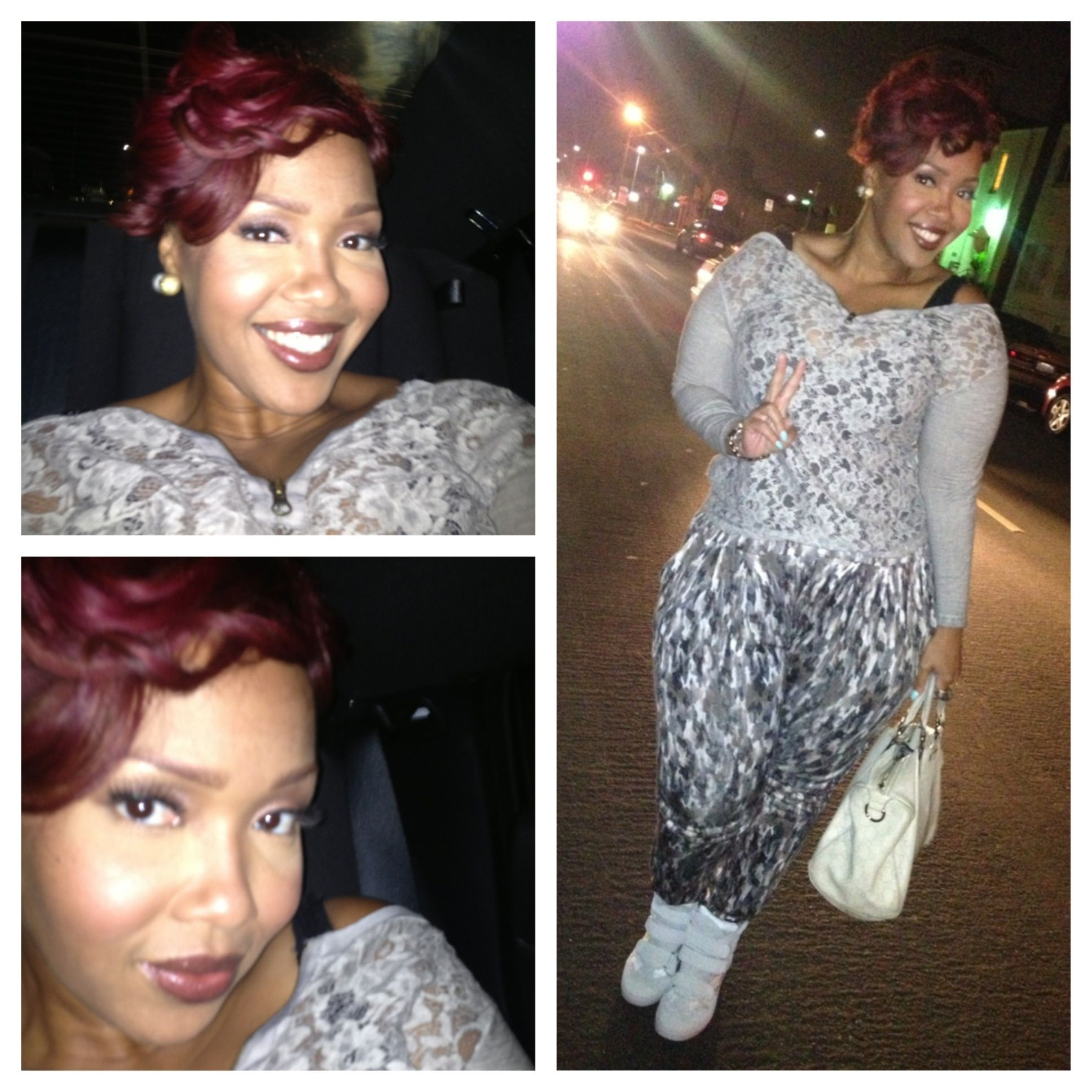 headed out to nia hill and vanessa williams' birthday party