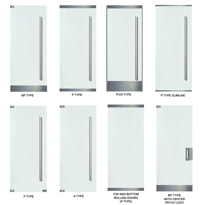 Commercial Glass Entry Door Types