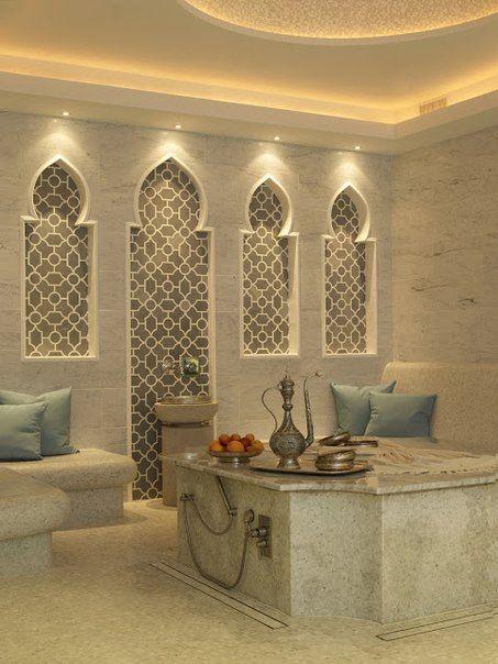 Moroccan Bathroom | Banheiro marroquino, Design de casa ...
