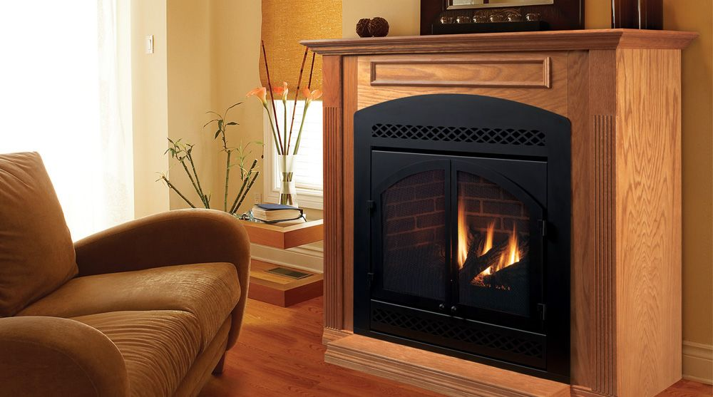 Dvb Series Direct Vent Gas Fireplaces By Majestic Products Direct Vent Gas Fireplace Majestic Fireplace Fireplace Vent