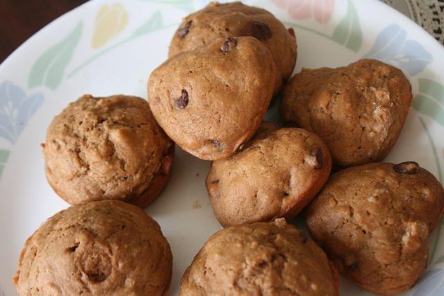 Vegan Cappuccino - Chip Muffins