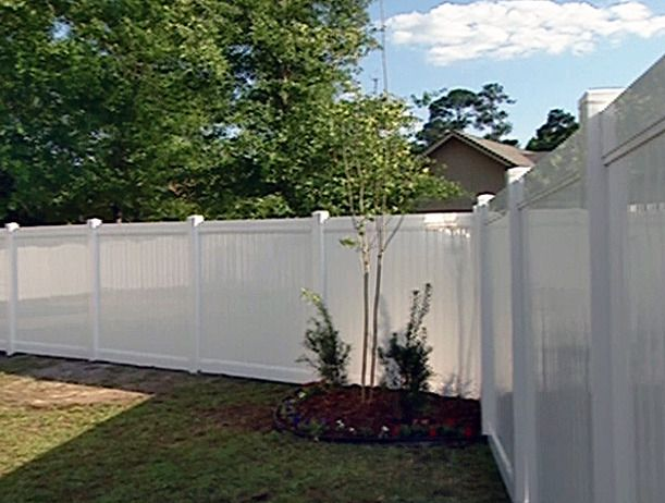How To Install A Vinyl Privacy Fence Vinyl Privacy Fence