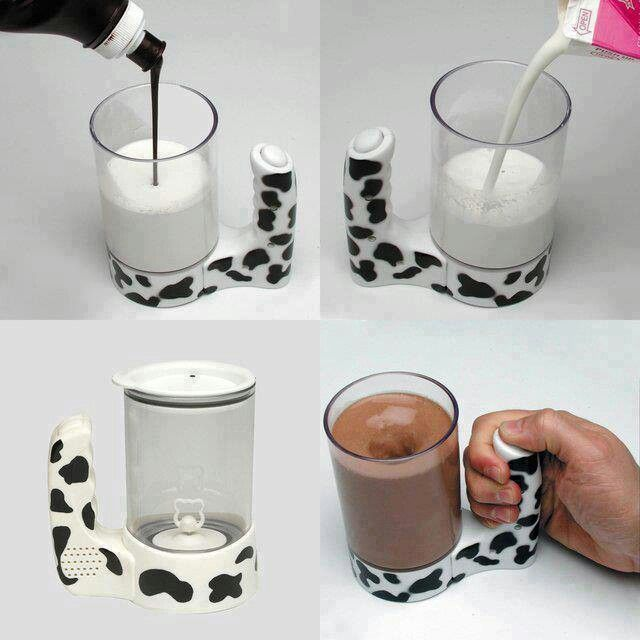 WANT!!!!! It stirs your milk!! Genius!