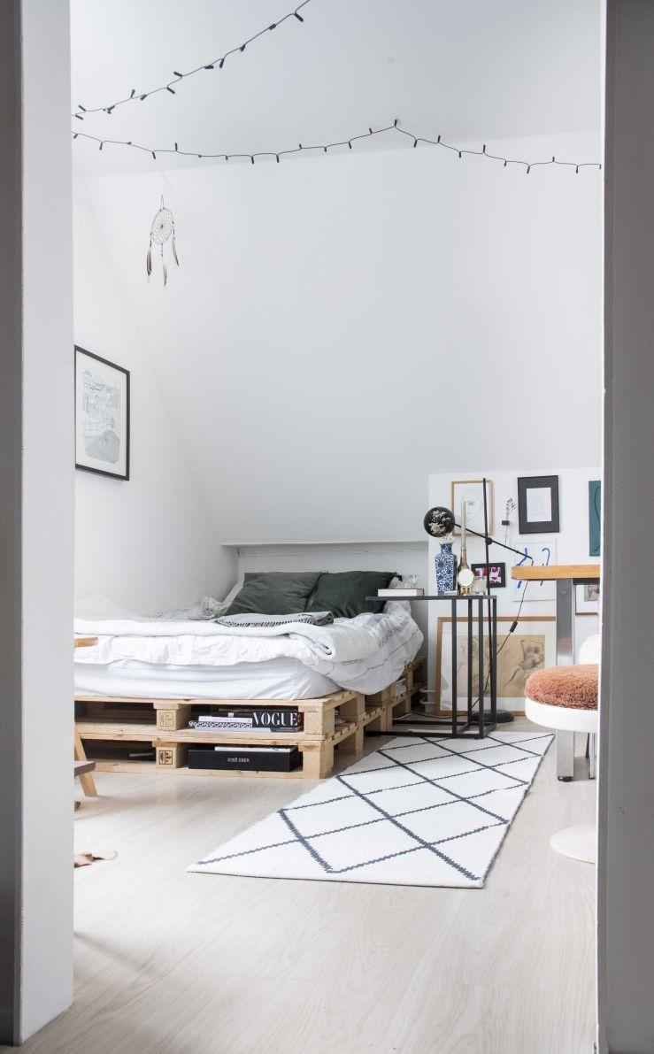 Inspiration pour la chambre étudiante d'Eva de Rotterdam   Image © Elisah Jacobs / Interio …