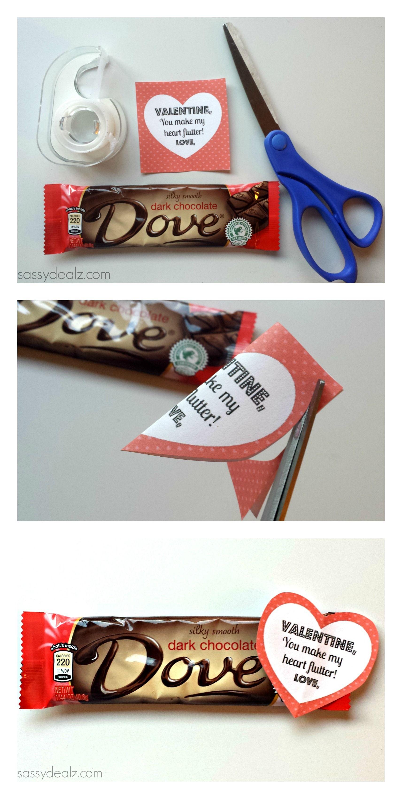 Dove Chocolate Bar Valentine S Day Gift Idea Crafty Morning Dove Chocolate Valentine S Day Crafts For Kids Gluten Free Valentines