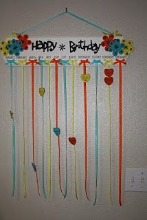 Birthday Chart Simple