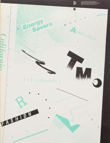 Typografische Monatsblätter | Cover from 1980 issue 5 | Willi Ku...