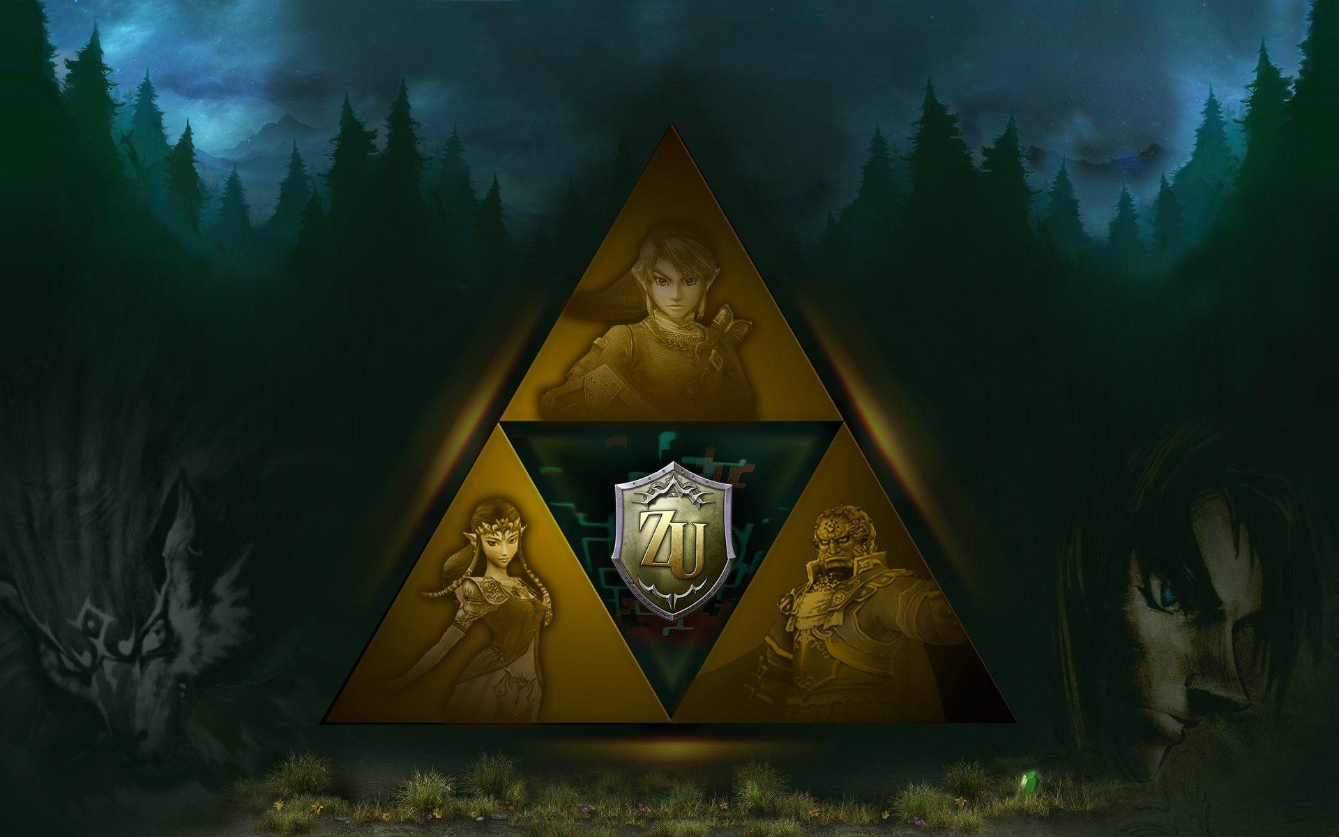 Video Game Zelda Princess Triforce Link Ganondorf Wallpaper
