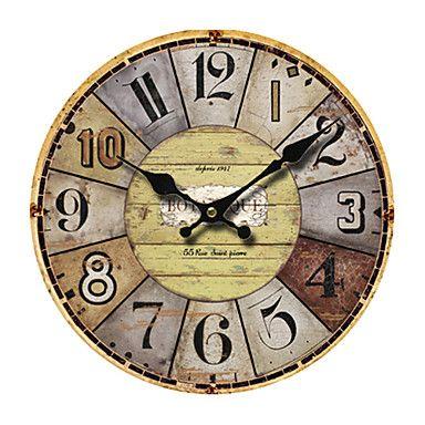 Mediterráneo Reloj de pared – USD $ 39.99