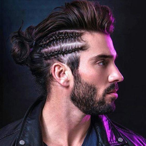 Cortes de cabello hombre Men with Long Hair Pinterest Corte de - peinados hombre