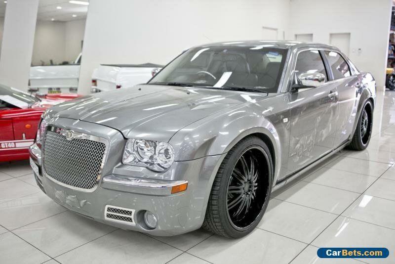 2006 Chrysler 300c Le My06 3 5 V6 Grey Automatic 5sp A Sedan