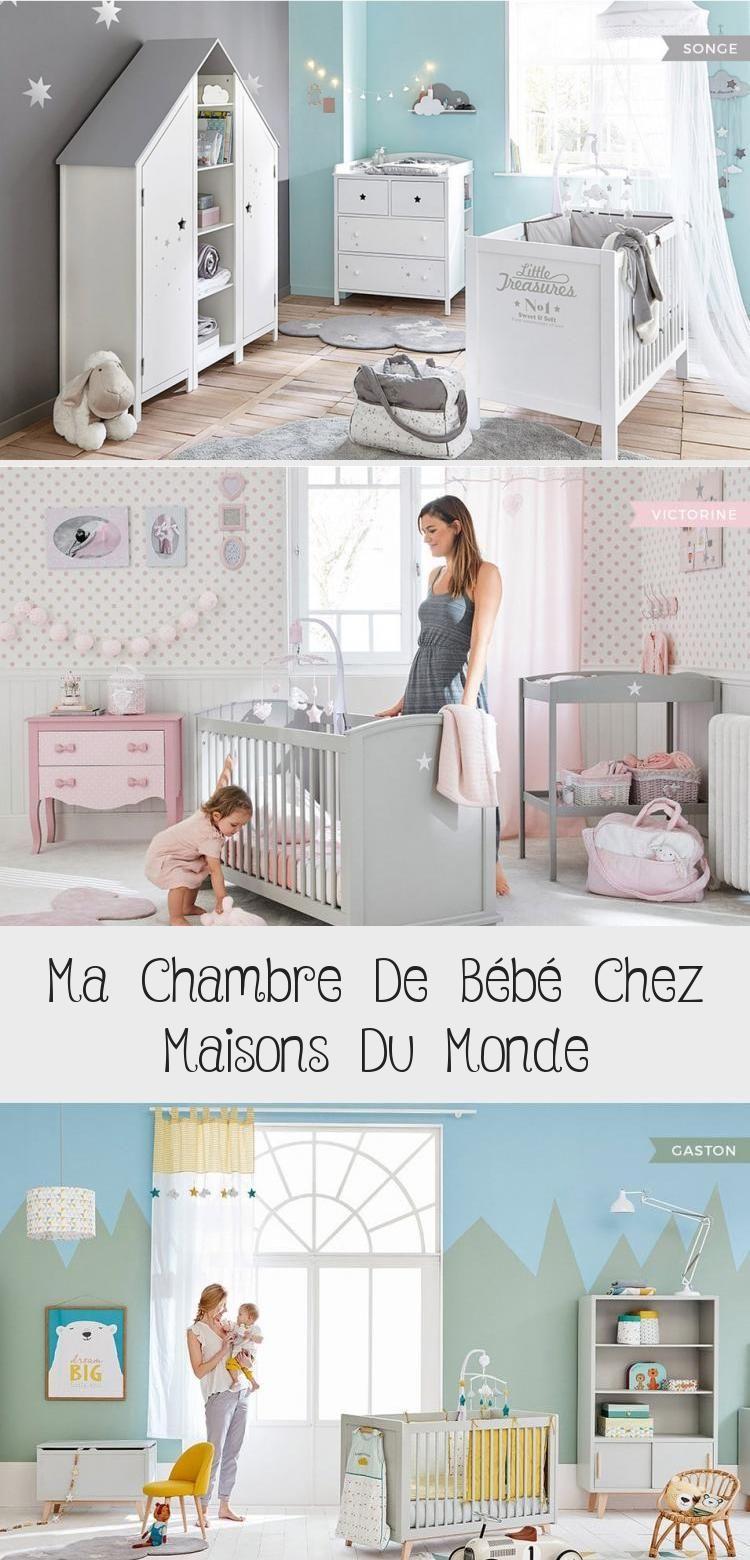 Ma Chambre De Bebe Chez Maisons Du Monde Decoration In 2020 Home Toddler Bed Home Decor