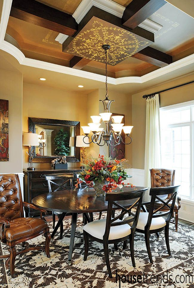 Rich Dining Room Design Seen In The Details  Basement  Pinterest Alluring Basement Dining Room Inspiration