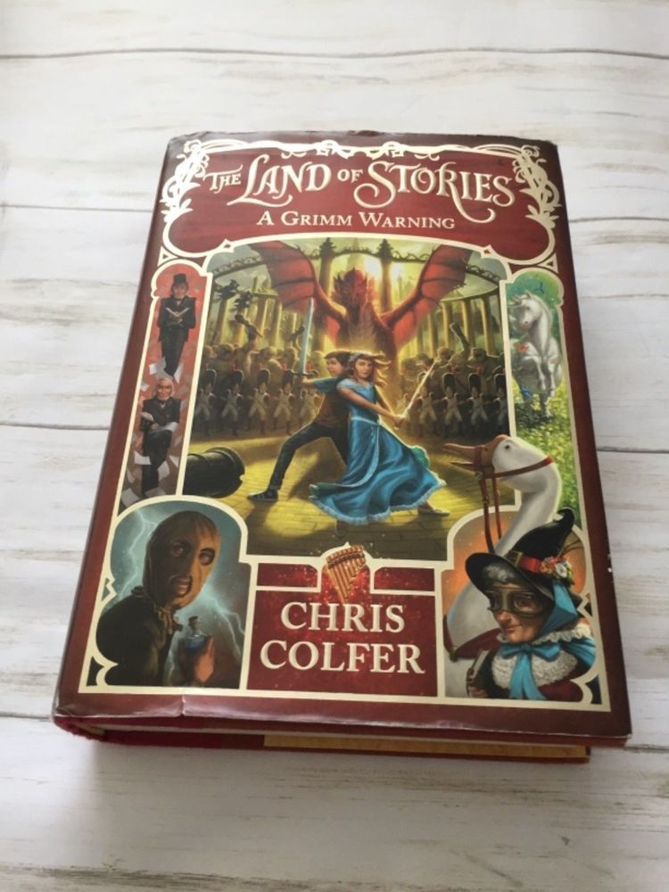 Signed The Land Of Stories A Grimm Warning 3 By Chris Colfer