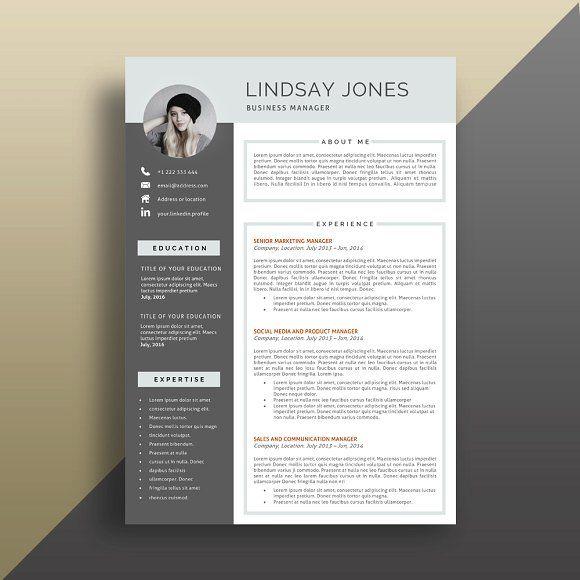 Professional Resume/CV Template by PortlandStudio on