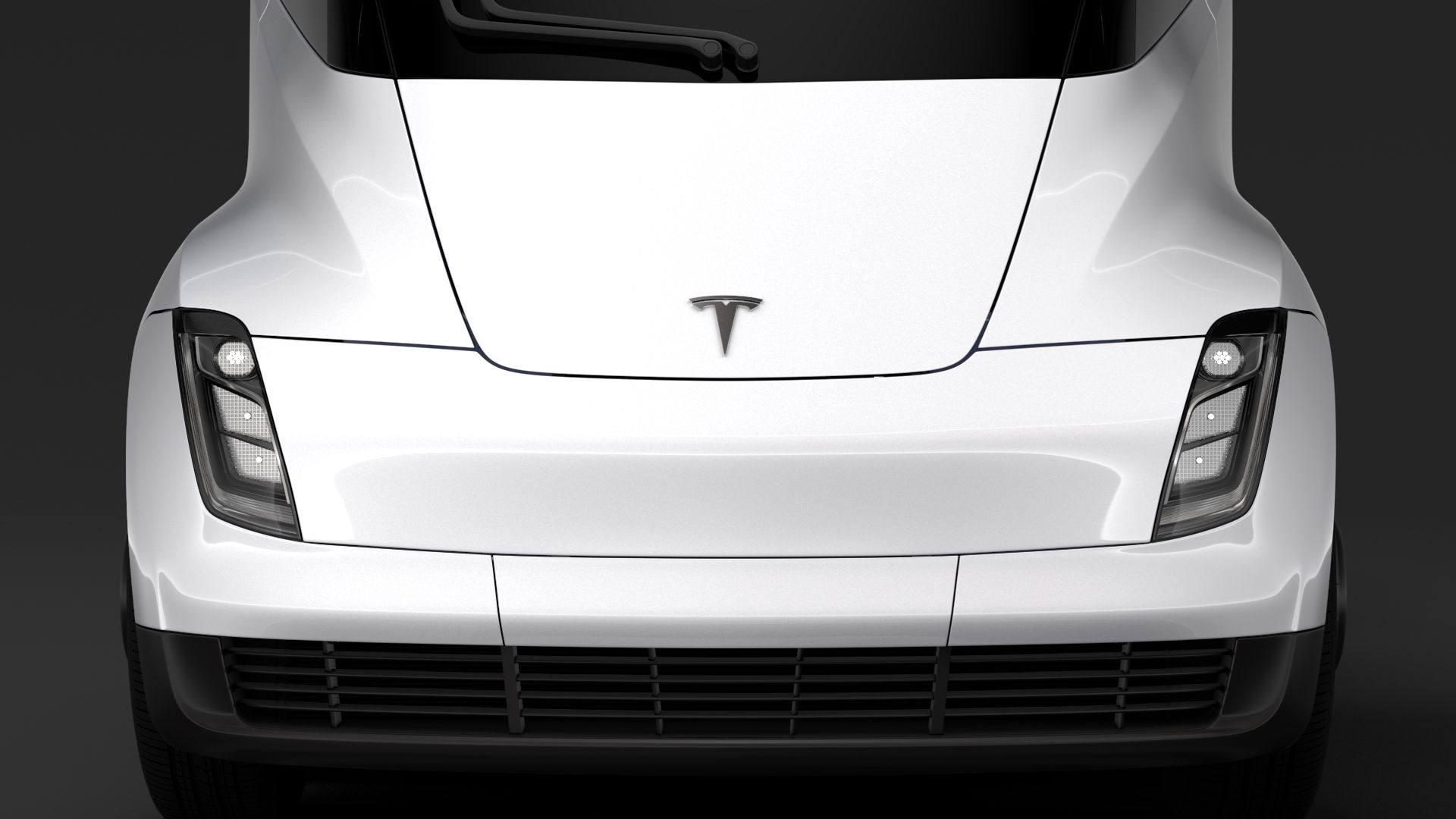 Tesla Semi 4axis 2018 3D Model Creator 3D Team model