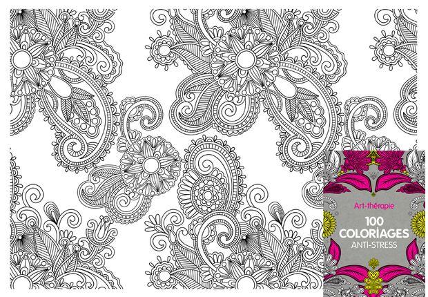 100 coloriages anti stress coloriage extrait de louvrage 100 coloriages anti stressparu aux editions hachette loisirs tlchargez ce - Coloriage Anti Stress Hachette