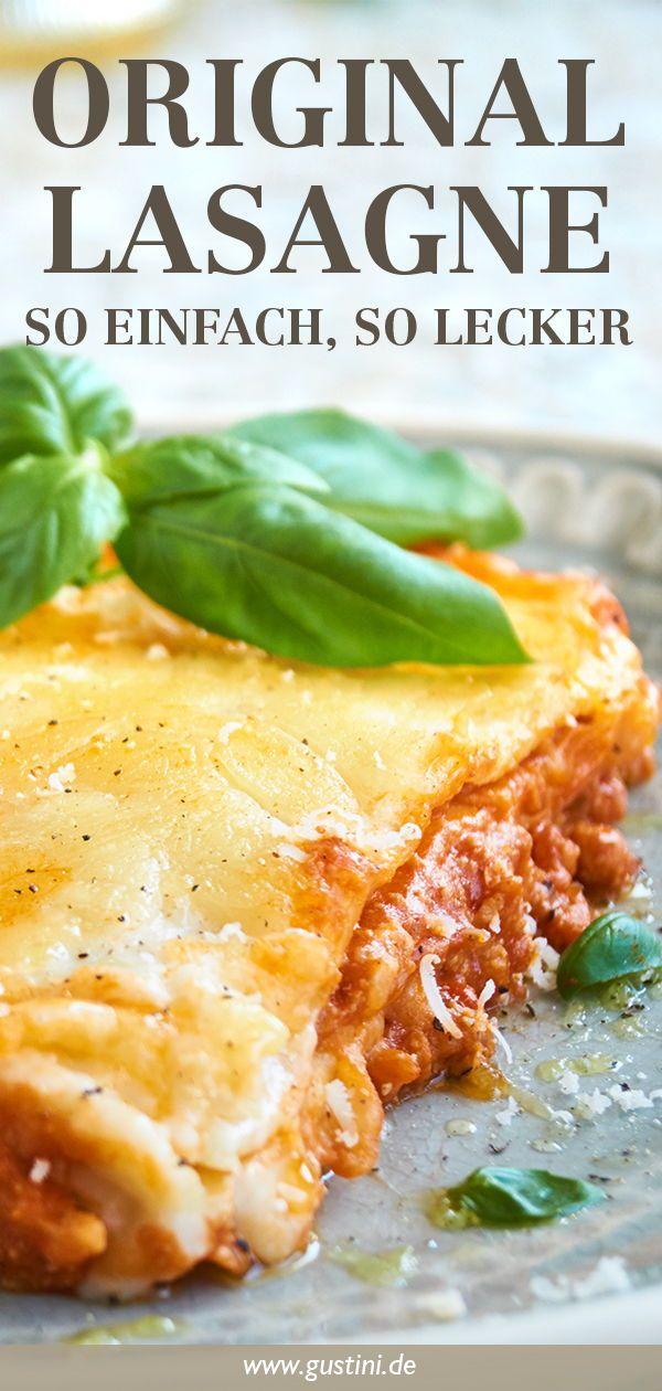 Lasagne Rezept - Original aus Italien | Gustinis Feinkost Blog