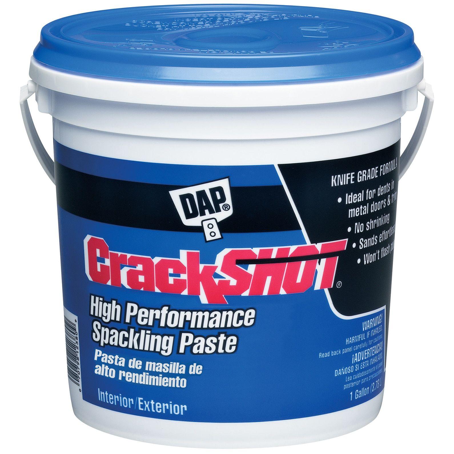 Dap 12380 1 Gallon CrackShot Spackling Interior/Exterior