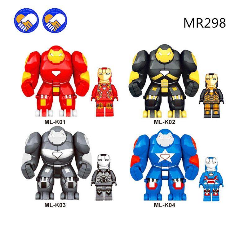 Building Blocks Superheroes Bricks Big Action Figure Model Gifts Toys Kids 7 cm
